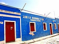 pernambuco night club with blue facade