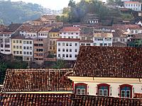 ouro preto mg aerial view of the city architecture