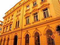 sao paulo sp old architecture building facade empty