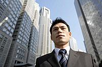 Businessman, close_up