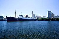 Hikawamaru and Marine tower