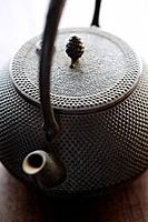 Close-up of a teapot
