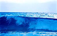 cancun mexico beach sea water with waves