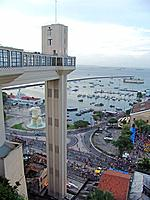 aerial view of bahia from lacerda elevator