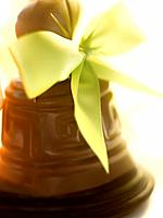 Chocolate Easter bell