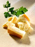 Parmesan with parsley