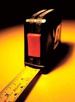 a measure tape tool for building