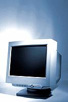 a white computer monitor screen