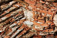 Old brick wall, close_up