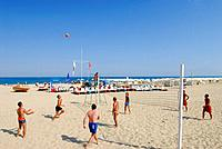 Bulgaria, Black Sea region, Albena beach,beaches, beach volley