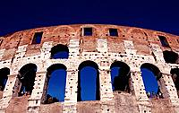 Italy, Europe, Rome, Coliseum, Colosseum, capital, building, place of interest, architecture, Outside, construction hi