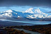 Mount Mckinley, Denali, national park, Alaska, USA, America, United States, North America, Landscape, scenery, Scenic,