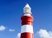 Lighthouse,Cape Agulhas,South Africa.
