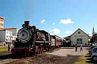 Train, Maria Fumaça, Bento Gonçalves, Rio Grande do Sul, Brazil