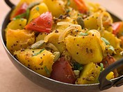 Bombay Aloo _ Curried Potatoes