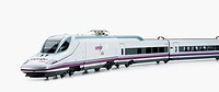 AVE (Spanish High-speed train), model Talgo 350 Serie 102 'Pato' (Duck)