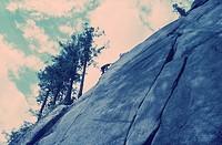 Rock Climbing, Squamish, BC