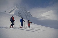ski touring, Selkirk Mountains, BC