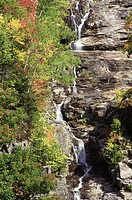 Silver Cascade, Crawford notch, White Mountains, New Hampshire
