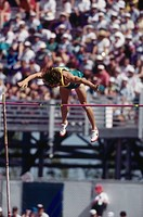 Pole Vaulter at 1994 Commonwealth Games, Victoria, BC