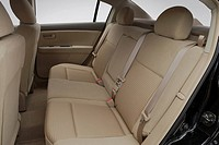 2008 Nissan Sentra 2.0 in Black _ Rear seats