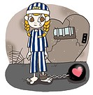 A young woman crying because she is a prisoner of love (thumbnail)