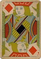Jack of Diamonds vintage playing card (thumbnail)