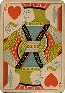 Jack of Hearts vintage playing card
