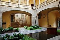 Palau del Lloctinent, Arxiu de la Corona d´Arag—, Gothic quarter, Barcelona, Catalonia, Spain