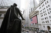 United States, New York, Wall Street, stock markets, George Washington Monument