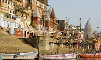 Prayag Ghat, Varanasi, Uttar Pradesh, India