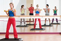 Fitness class (thumbnail)