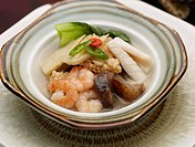 Chinese, sizzling rice soup, dishes, dish, Food styling, Chinese Cuisine, sizzling rice soup (thumbnail)