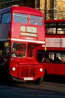 England _ London _ red double_decker bus