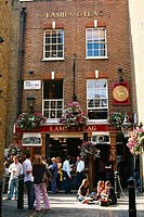 England _ London _ Soho district _ Covent Garden _ Pub Lamb and Flag