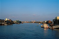 England _ London _ South Bank district _ The Thames
