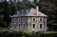 New Zealand _ North Island _ Northernland _ Kerikeri _ Stone Store _ The oldest stone house in the country 1836