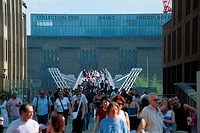 England _ London _ The City _ Millennium Bridge