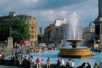 England - London - St James's district - Trafalgar square (thumbnail)
