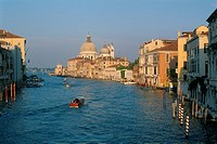 Italy _ Venice _ view of the Grand Canal _ Santa Maria Della Salute