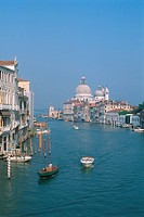 Italy - Venice - view of the Grand Canal and Santa Maria Della Salute (thumbnail)