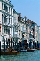 Italy _ Venice _ The Grand Canal _ residences