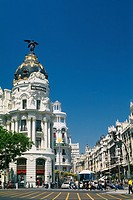 Spain - Madrid - Gran Via - Edificio Metrpolis - Metropolis building (thumbnail)