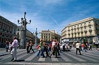 Spain _ Madrid _ Puerta del Sol