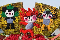 China _ Beijing PÚkin _ Beijing Olympic Games 2008 _ Mascot