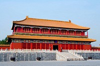 China _ Beijing PÚkin _ Forbidden City _ The Rightness Gate Duanmen _ The Palace of Supreme Harmony Taihemen