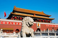 China _ Beijing PÚkin _ Tian'anmen Square and The Gate of Heavenly Purity