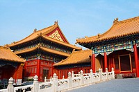 China _ Beijing PÚkin _ Forbidden City _ The Rightness Gate Duanmen _ The Palace of Supreme HarmonyTaihe dian