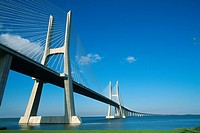 Portugal _ Lisbon _ Vasco da Gama Bridge