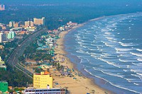 Vietnam _ The South _ Vung Tau Cape Saint Jacques _ Bai Sau Beach Seashore
